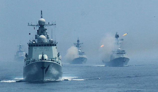 China and Russia to conduct joint military drills