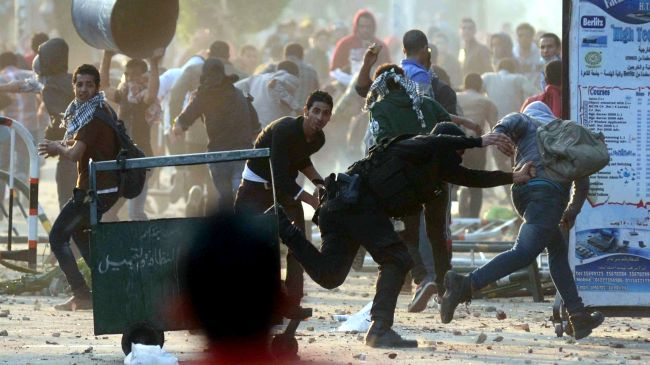 Security forces break up student protests across Egypt