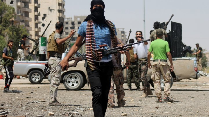 Ironic democracy where fighting in Syria is not a crime -UPDATED
