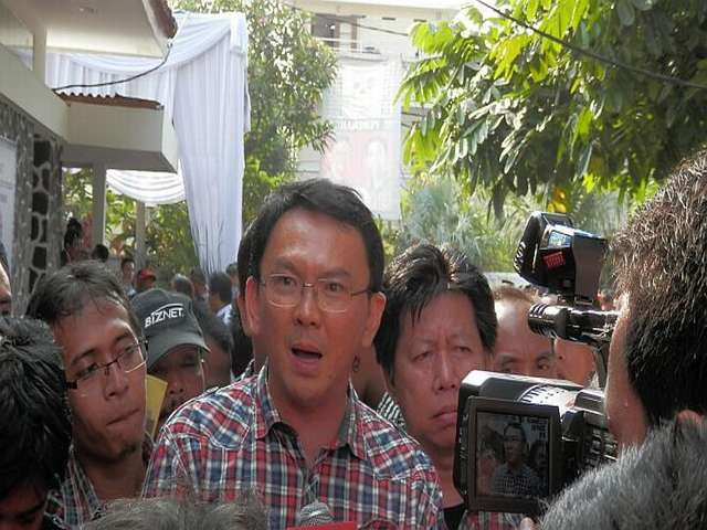 Ethnic Chinese leader takes charge in the Indonesia capital