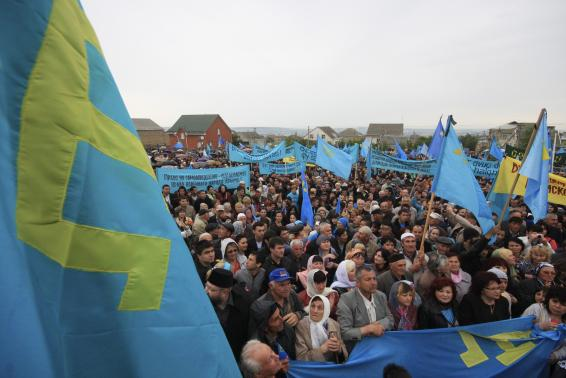 Despair prevails on Crimea on anniversary of Russian annexation