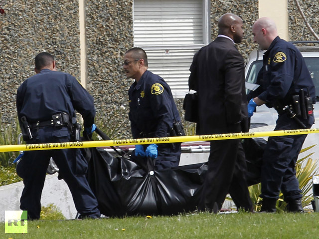 At least seven killed in drive-by shooting in California -UPDATED