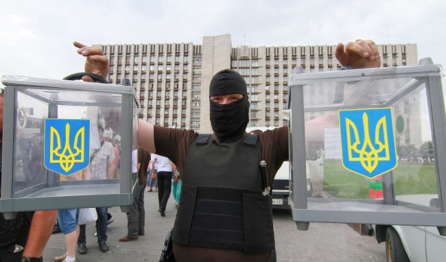 Ukrainian PM warns Russia may try to disrupt election