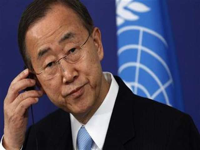 UN chief: Better early warning needed for disease outbreaks