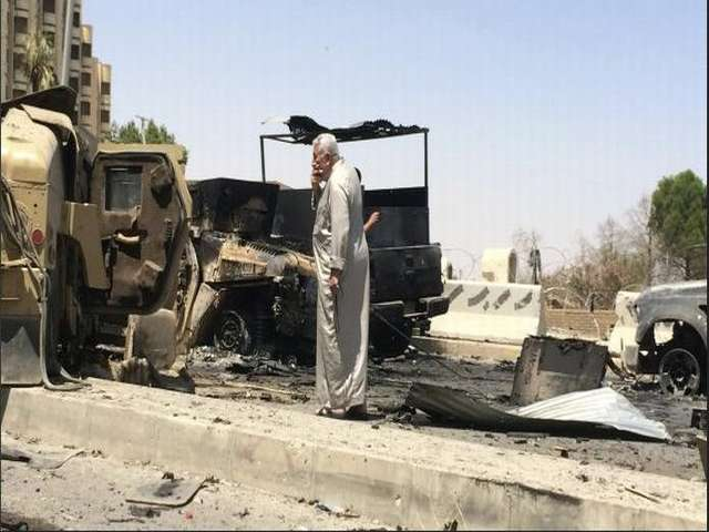 Seven people killed in Baghdad explosions