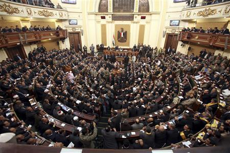 Egypt govt approves bill on voting constituencies
