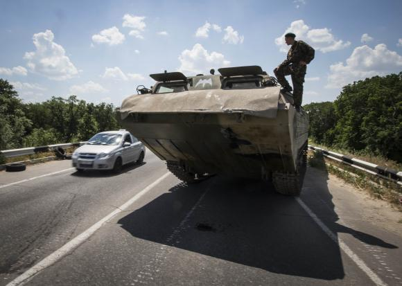 Ukraine's military reports significant fall in fighting