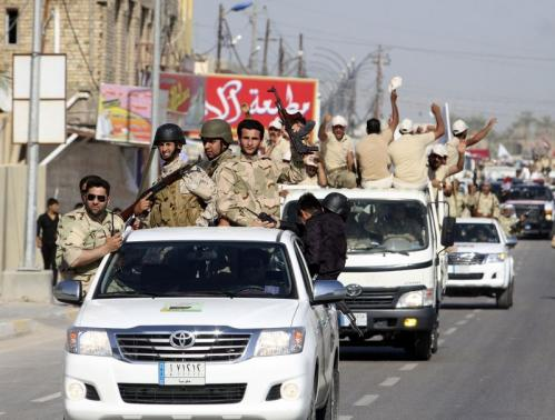 Iranian general killed by sniper bullet in embattled Iraqi city