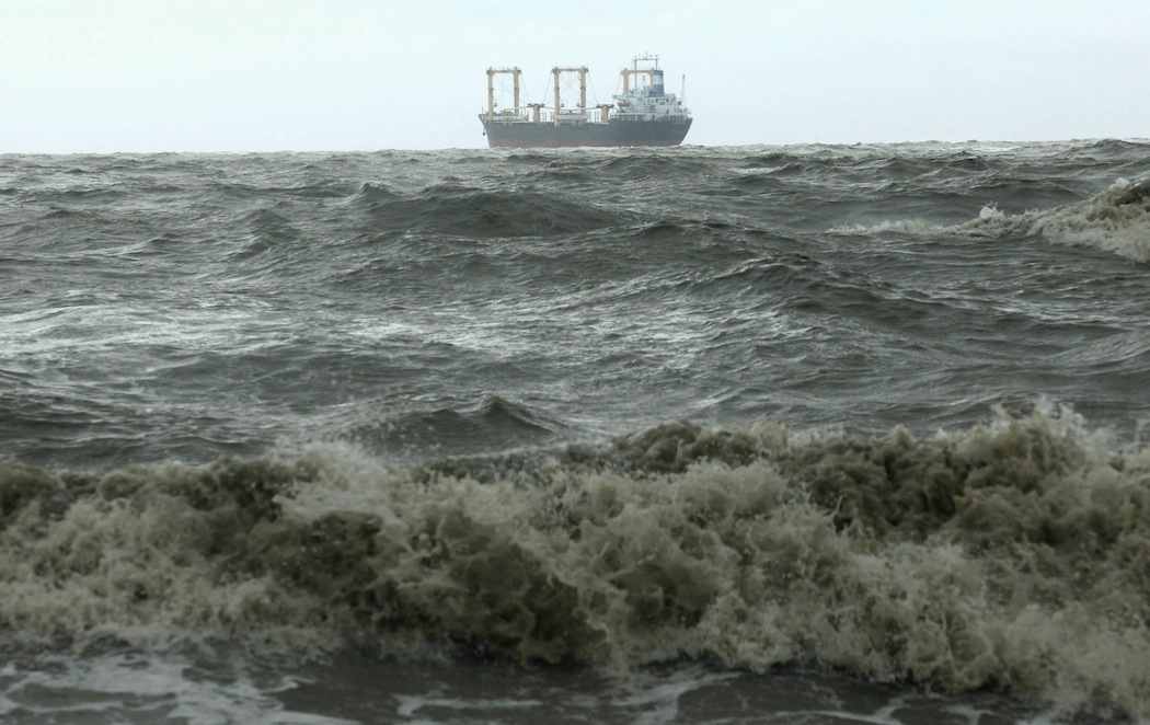 9 missing after cargo boats collide in East China Sea