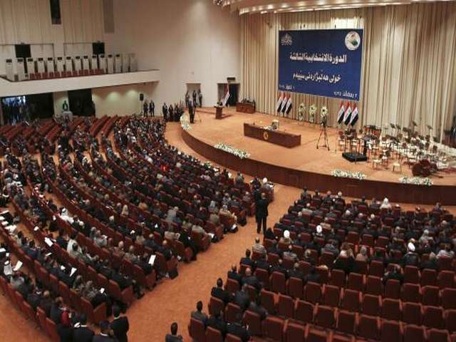 Protesting relatives of abductees break into Iraqi parliament -UPDATED