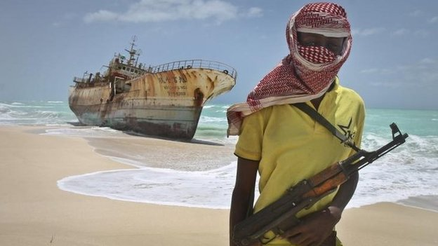 Study says roads, not warships, will defeat Somali pirates