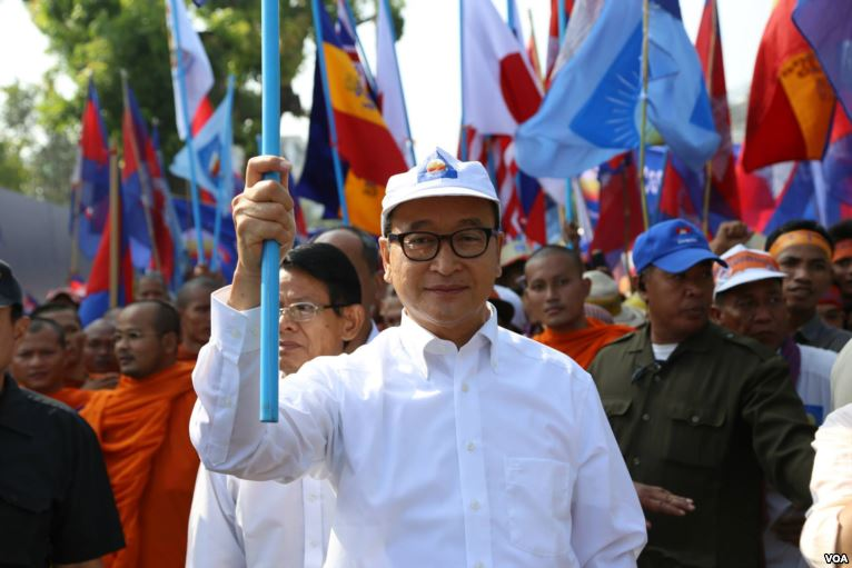 Cambodia opposition leader asked to address real issues