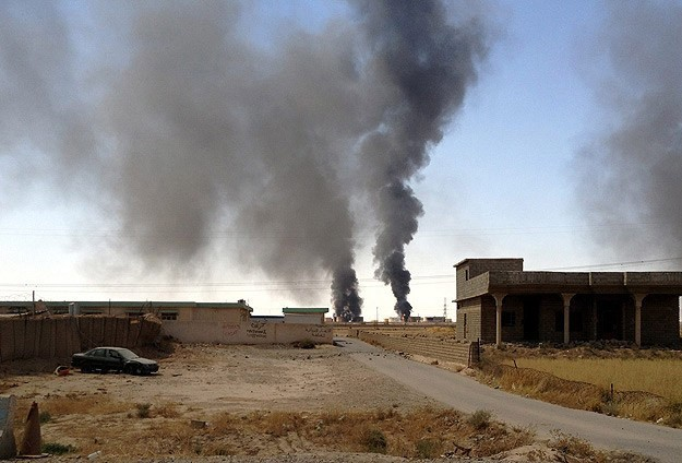 U.S. prepares military options in Syria against ISIL