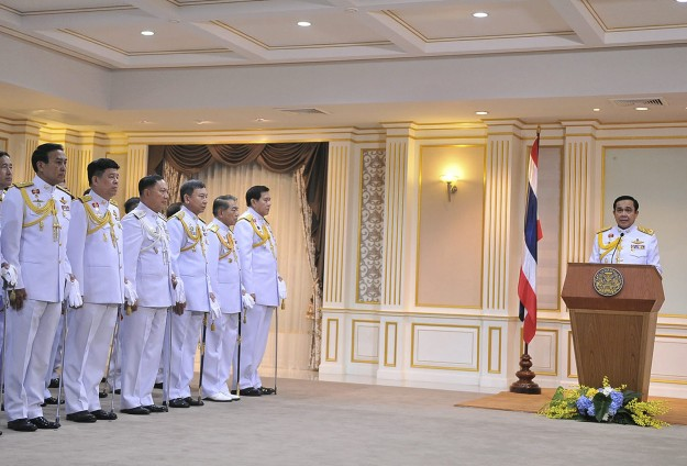 Thai minister says U.S. 'more confident' of coup rulers