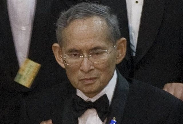 Thai king admitted into hospital