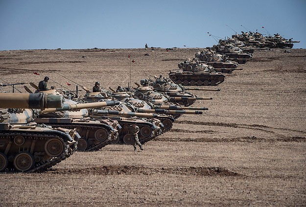 US: Turkey 'buffer zone' plan for Syria not on the front burner