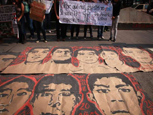 Tests confirm remains of 1 of 43 abducted Mexican students