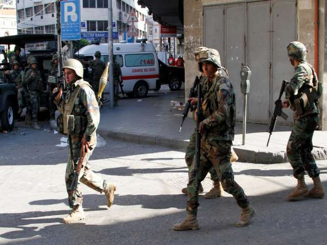 Gunmen open fire on refugee camp in Lebanon, two wounded