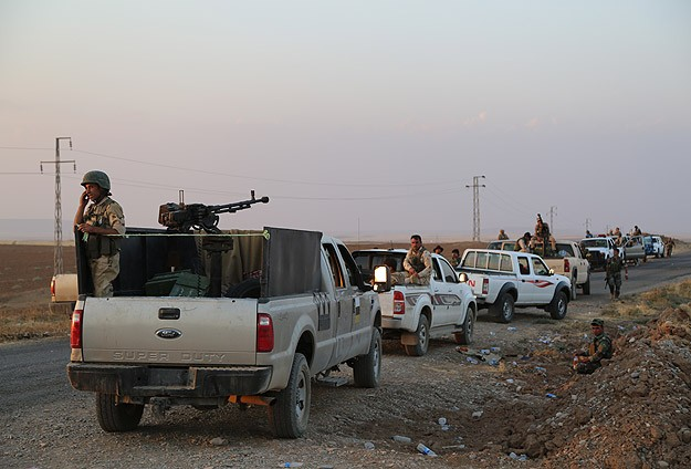Peshmerga left 95% of Iraq's 'disputed' areas: Official