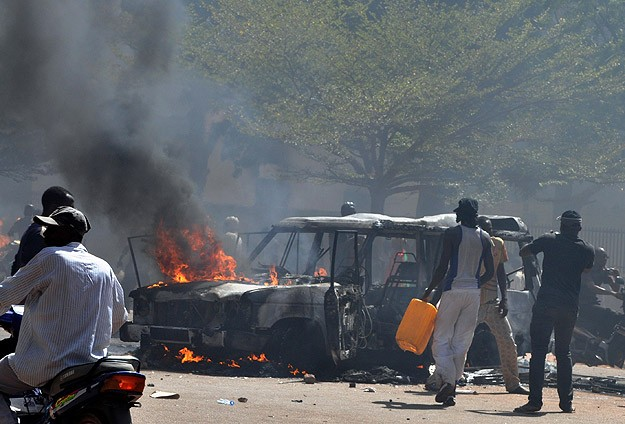 Burkina Faso: 6 coups in 54 years of independence