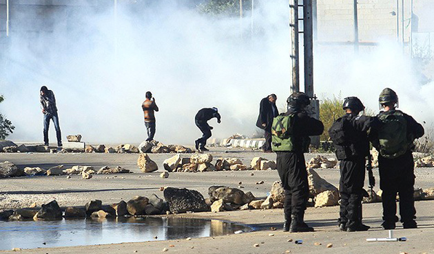 Israel forcibly disperses W. Bank protests