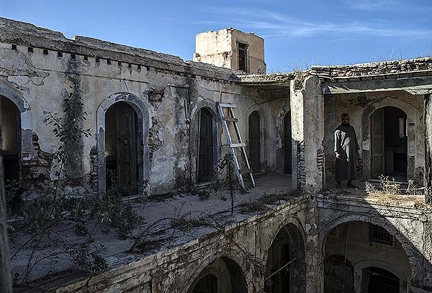 Conflict erases Libya's history and culture
