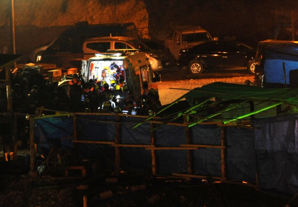 A worker killed in mine collapse in southern Turkey