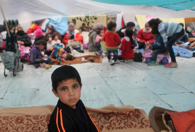 Syrian refugees in Greece 'facing inhumane conditions'