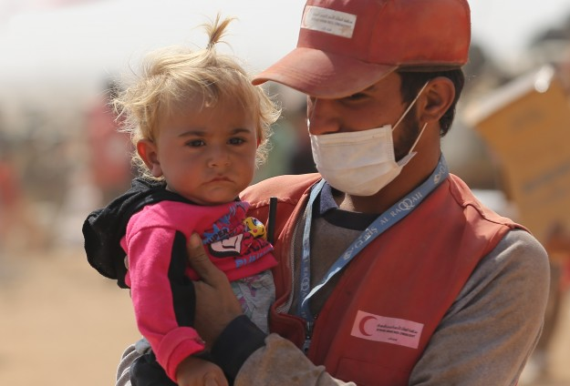 Turkish Red Crescent delivers aid to 600 Iraqi families