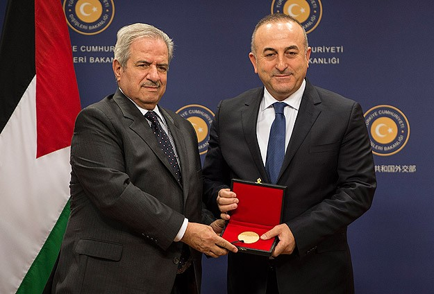 Turkish FM calls for Palestinian state on 1967 borders