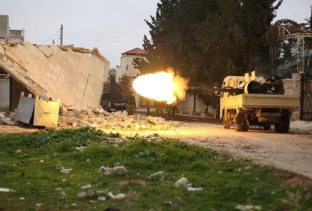 Syrian army recaptures territory north of Aleppo