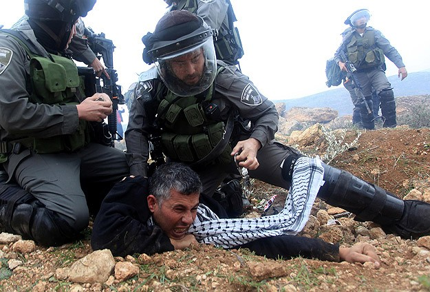 Palestinians injured in West Bank protests dispersal