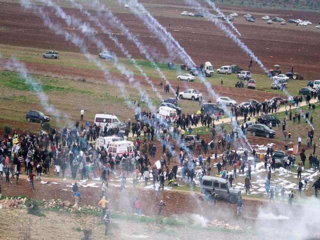 Israeli forces disperse Fatah rally in W. Bank
