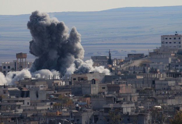 ISIL targeted in 39 strikes by U.S., allies -UPDATED