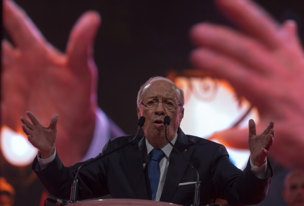 Essebsi claims victory in Tunisian election