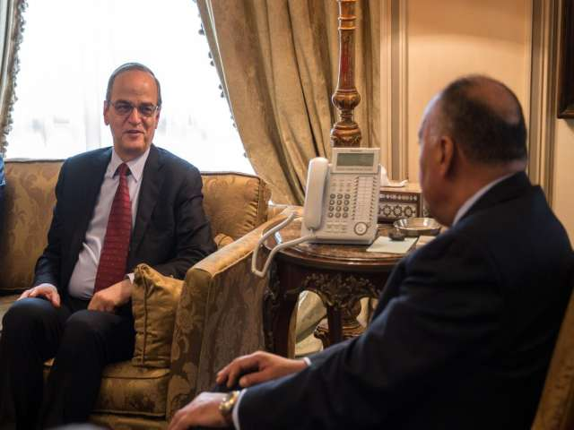 Syria opposition leader denies Egypt initiative -UPDATED