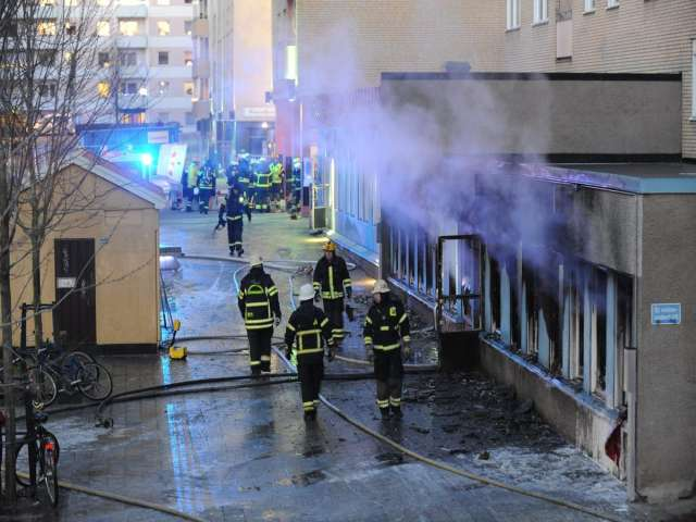 Another Swedish mosque damaged in arson attack