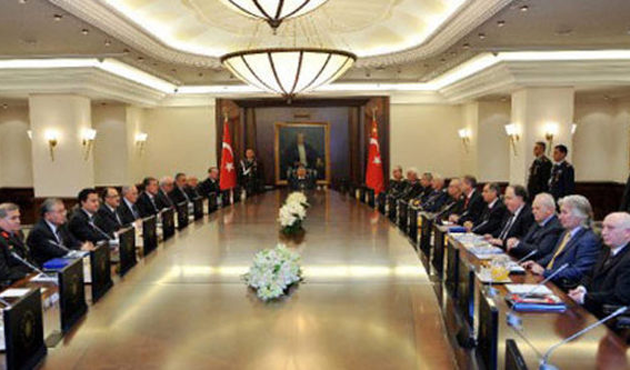 Turkey's top security body meets for last time in 2014