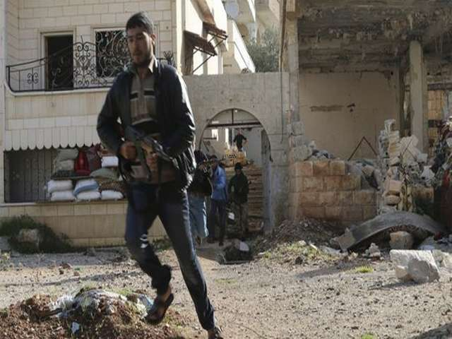 Syrian rebel factions join forces