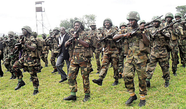 Nigerian military fights to recapture town from Boko Haram