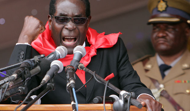 Zimbabwe's Mugabe urges Africa to be wary of West