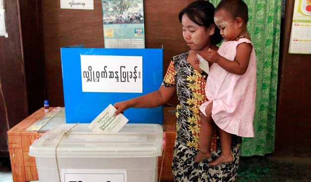 Thousands denied vote in upcoming Myanmar election