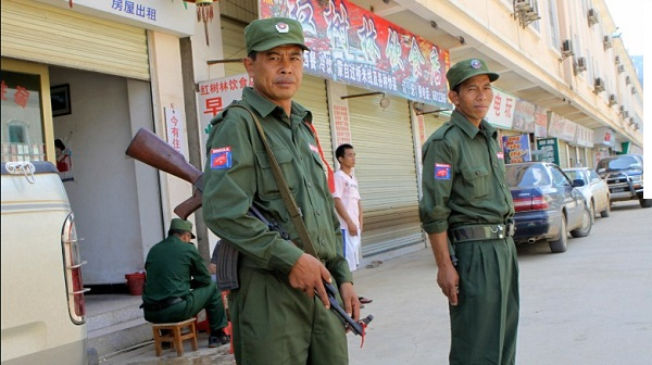 Myanmar army chief warns against 'chaotic democracy'