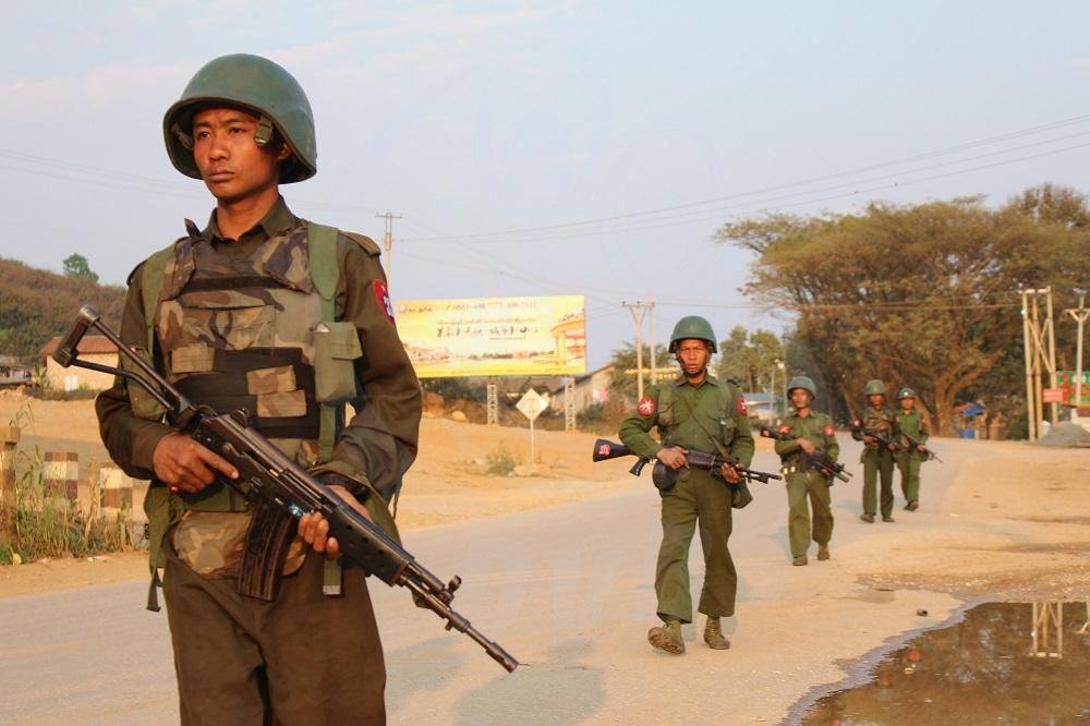 Myanmar military wins rare praise in war with ethnic Chinese rebels