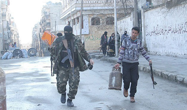 ISIL using Syrians as human shield