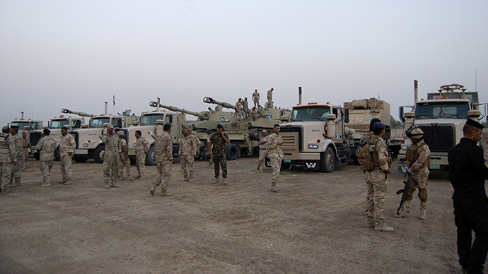 Iraqi PM: security forces have seized large parts of Tikrit