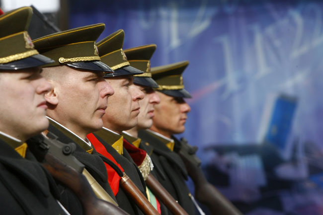 Lithuania says it 'trusts' Trump on defence