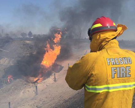 California gas pipeline explosion, fire injure up to 15 people