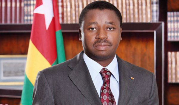 Togo president takes early lead in vote tally