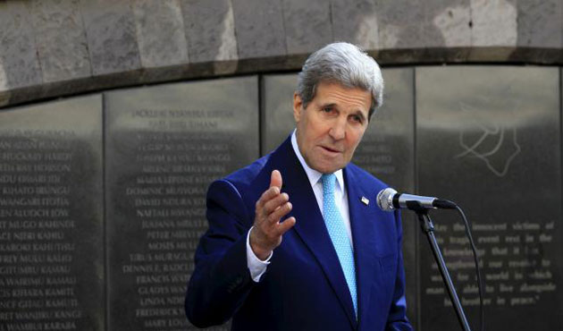 Kerry urges unity in call with Syrian opp. leader